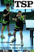 David Blessing und Moritz Kouril