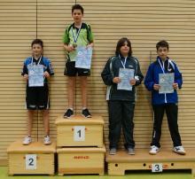 Siegerehrung Dominic Siebel U14