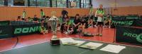Siegerpokal und Urkunden